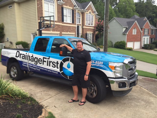 Drainage First Truck in Atlants